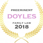 Preeminent, Leading Family & Divorce Lawyers – South Australia, 2018